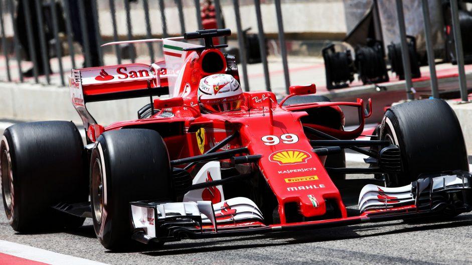 Antonio Giovinazzi, Ferrari, Bahrain International Circuit, 2017