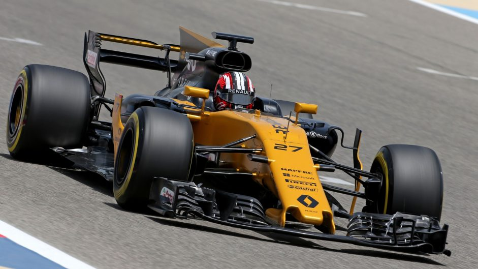 Nico Hulkenberg, Renault, Bahrain International Circuit, 2017