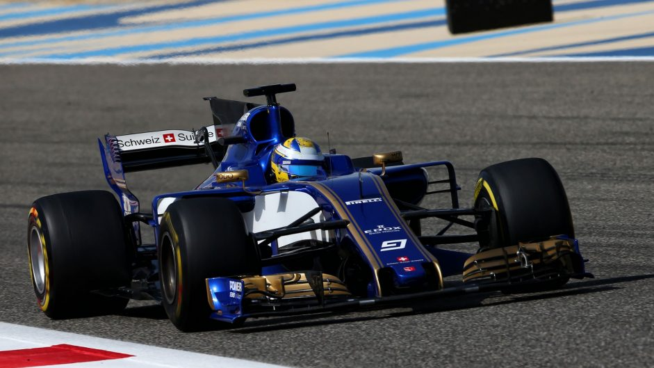 Marcus Ericsson, Sauber, Bahrain International Circuit, 2017