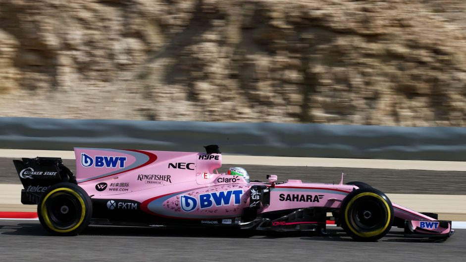 Alfonso Celis, Force India, Bahrain International Circuit, 2017