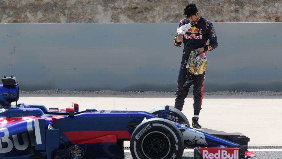 Sean Gelael, Toro Rosso, Bahrain International Circuit, 2017