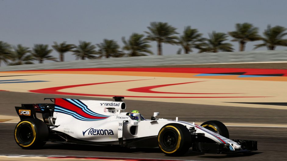 Felipe Massa, Williams, Bahrain International Circuit, 2017