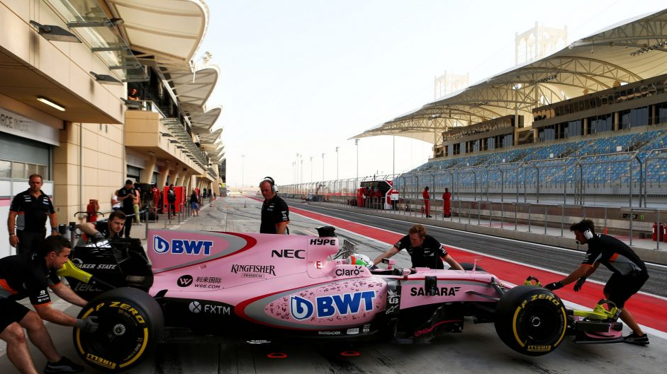 Alfonso Celis, Force India, Bahrain International Circuit, 2017