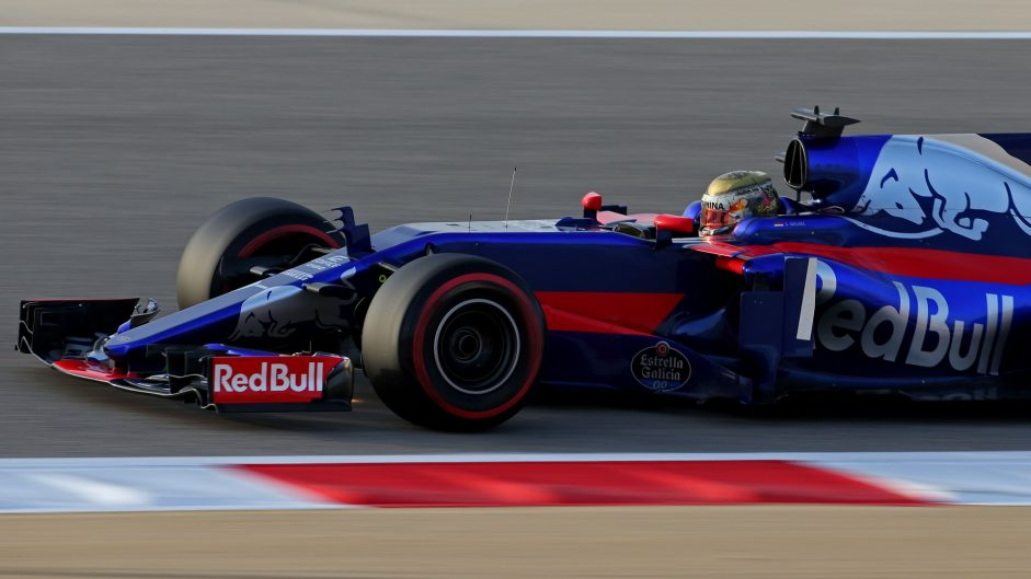 Sean Gelael, Toro Rosso, Bahrain International Circuit, 2017