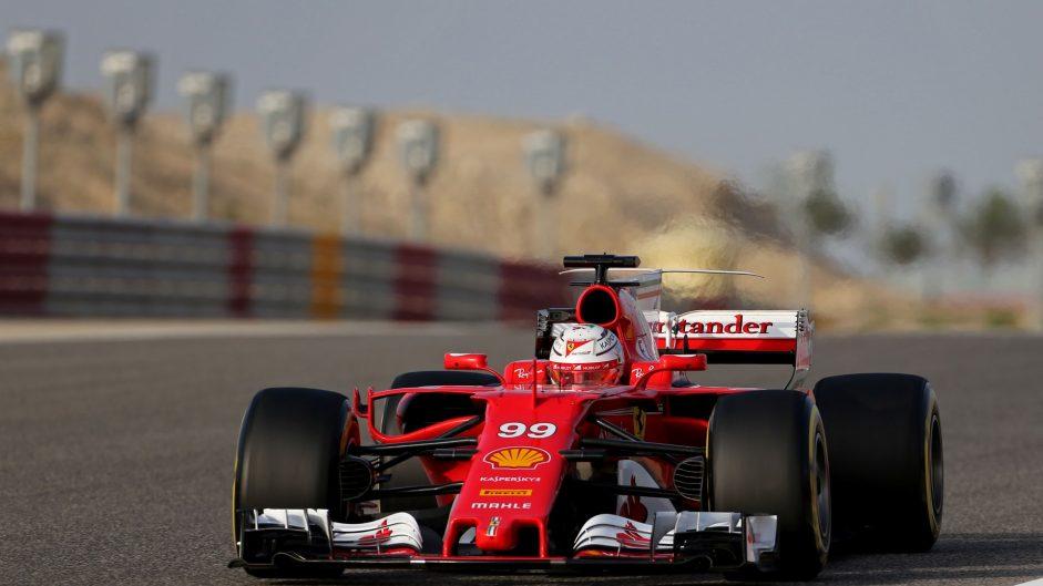 Antonio Giovinazzi, Ferrari , Bahrain International Circuit, 2017