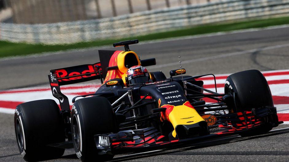 Pierre Gasly, Red Bull, Bahrain International Circuit, 2017