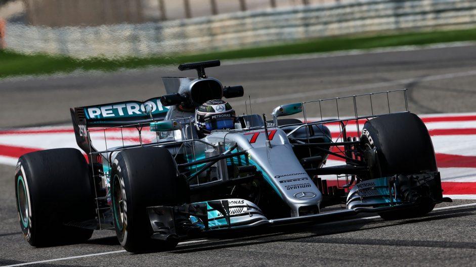 Valtteri Bottas, Mercedes, Bahrain International Circuit, 2017
