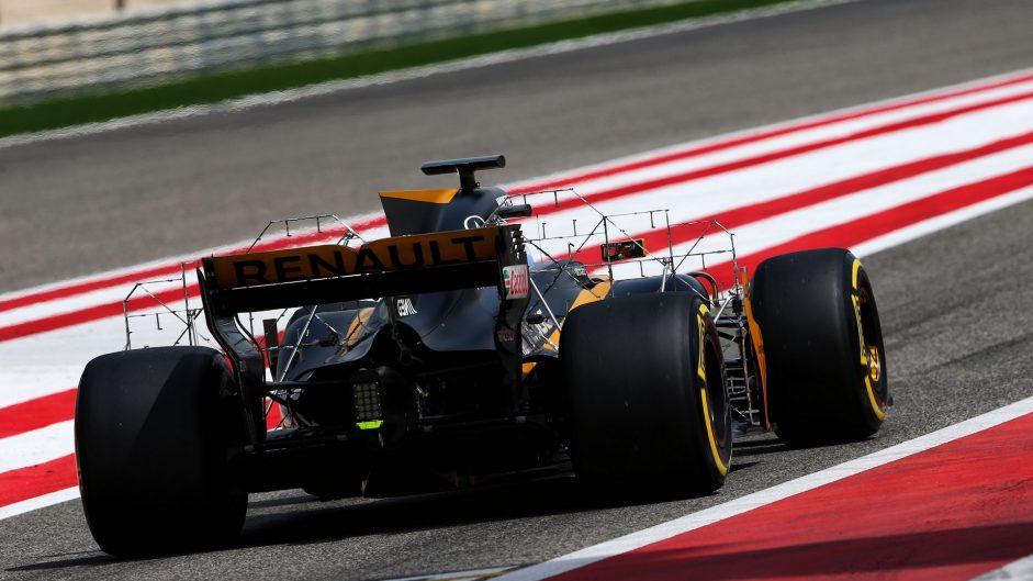 Sergey Sirotkin, Renault, Bahrain International Circuit, 2017