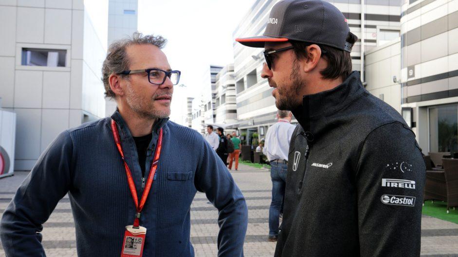 Caption Competition 128: Villeneuve and Alonso