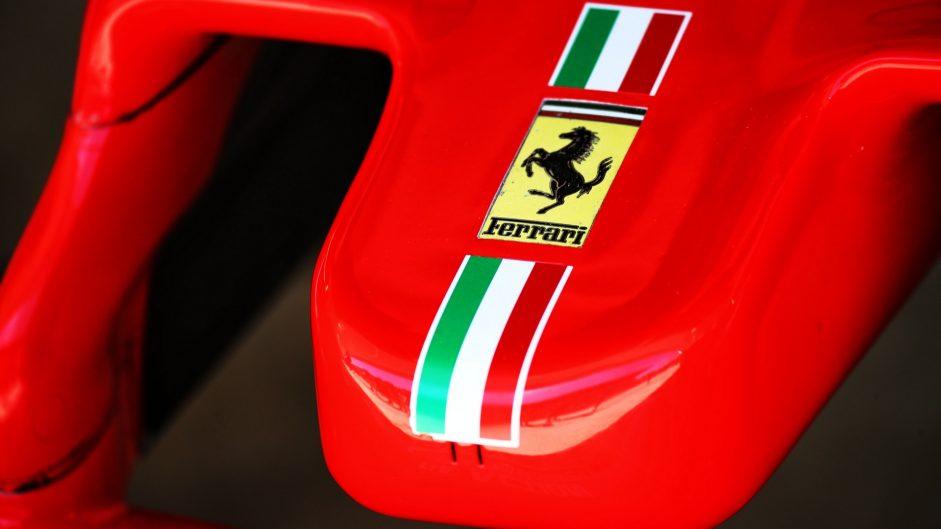 Ferrari SF70H nose, Sochi Autodrom, 2017