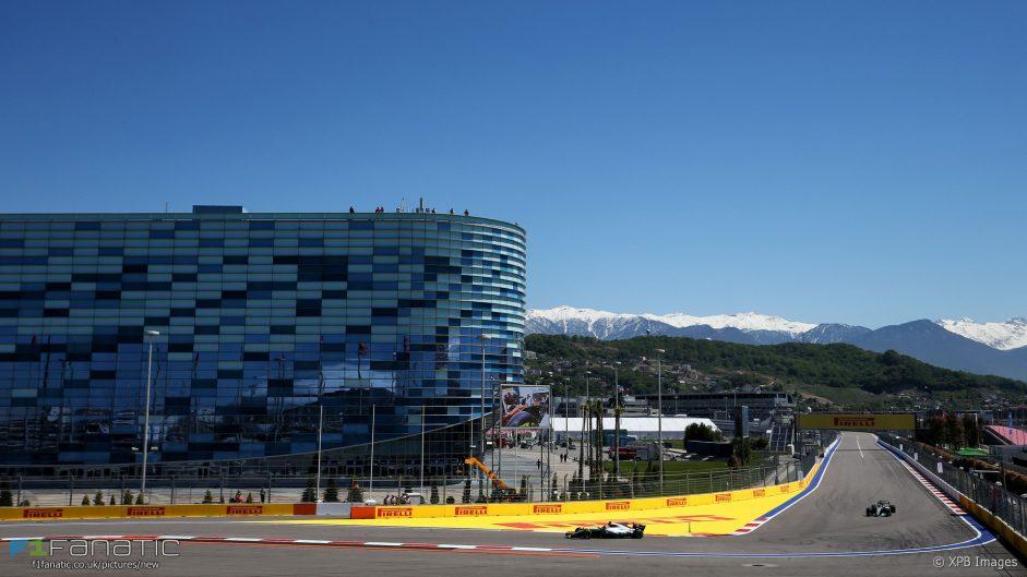 Raikkonen edges Bottas in first practice
