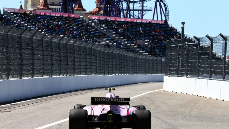 Esteban Ocon, Force India, Sochi Autodrom, 2017