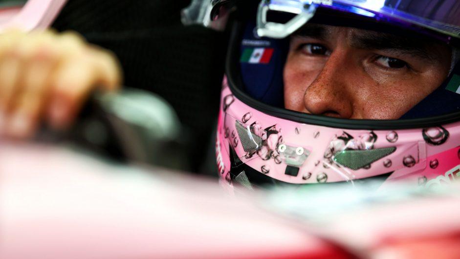 Sergio Perez, Force India, Sochi Autodrom, 2017