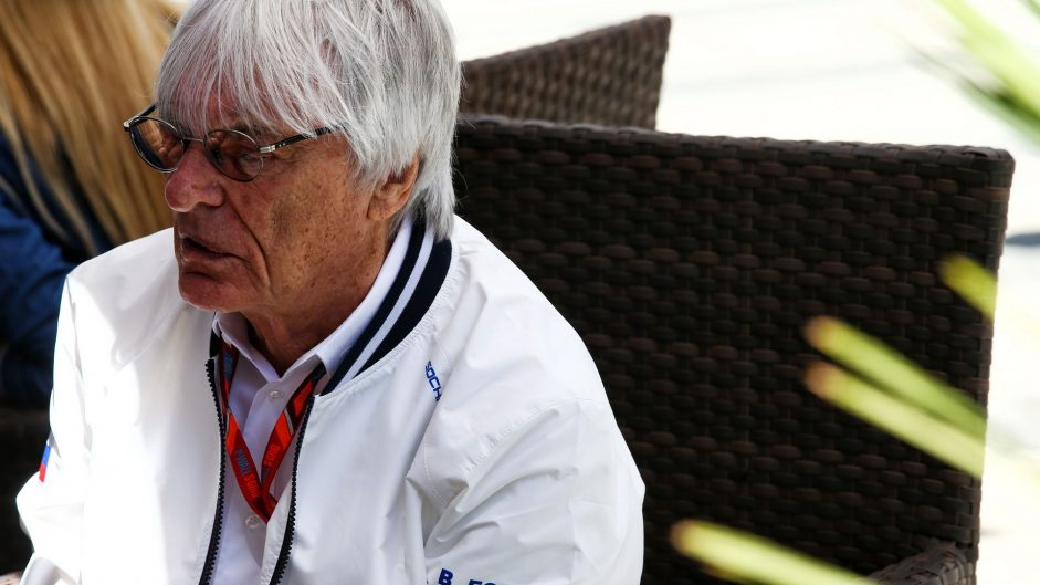 Bernie Ecclestone, Bahrain International Circuit, 2017