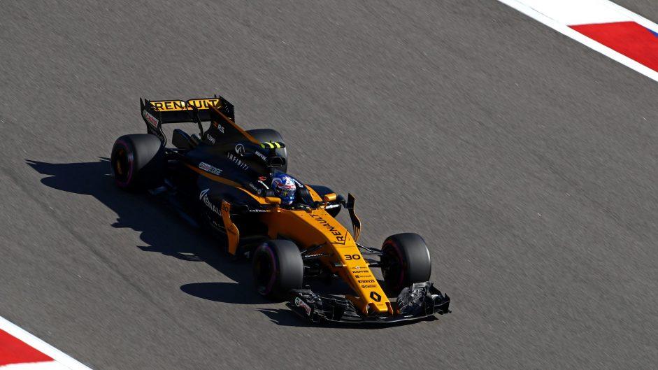 Jolyon Palmer, Renault, Bahrain International Circuit, 2017