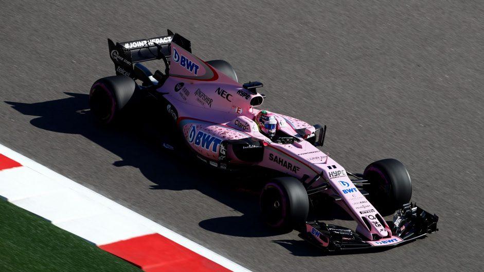 Sergio Perez, Force India, Bahrain International Circuit, 2017