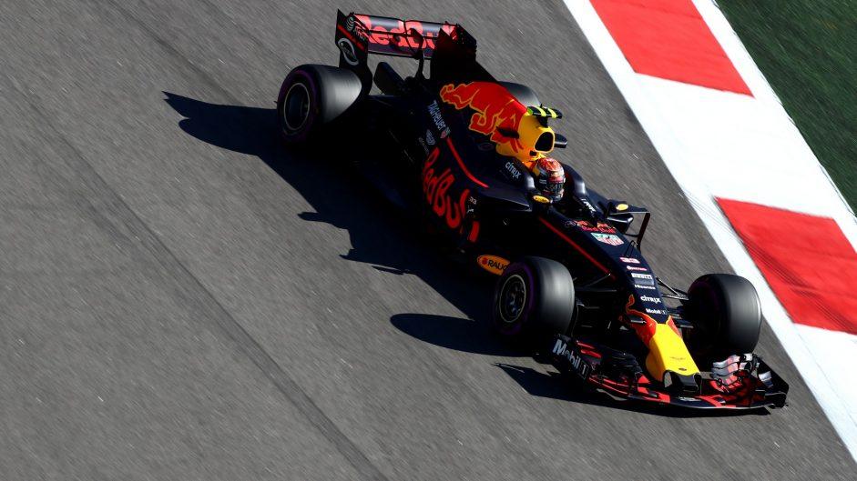 Max Verstappen, Red Bull, Sochi Autodrom, 2017