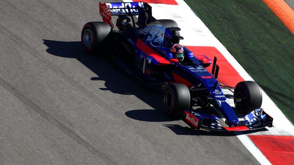 Daniil Kvyat, Toro Rosso, Sochi Autodrom, 2017