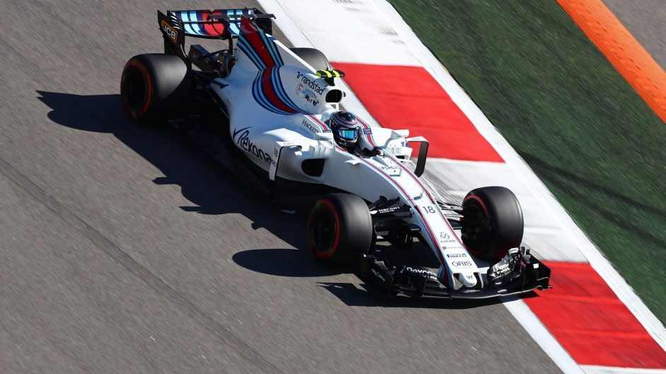 Lance Stroll, Williams, Sochi Autodrom, 2017