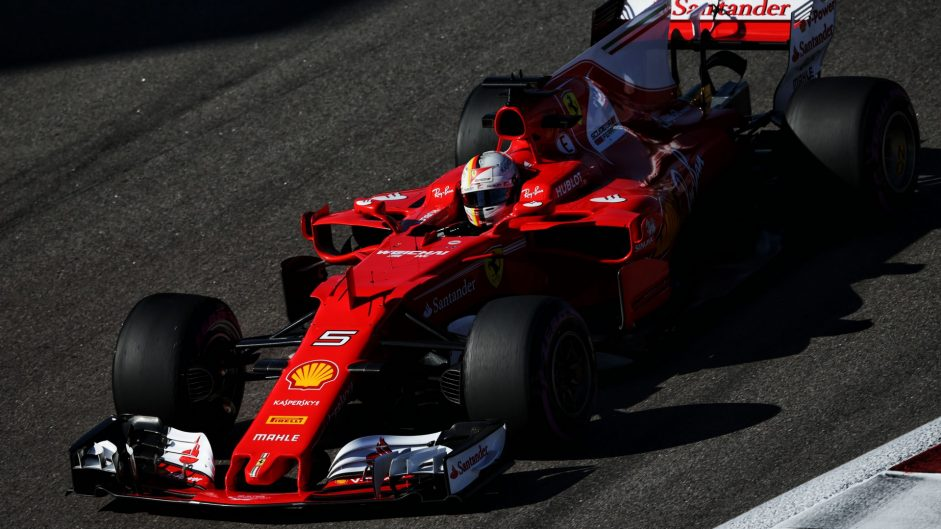 Vettel leads the way as Ferrari head all three practice sessions