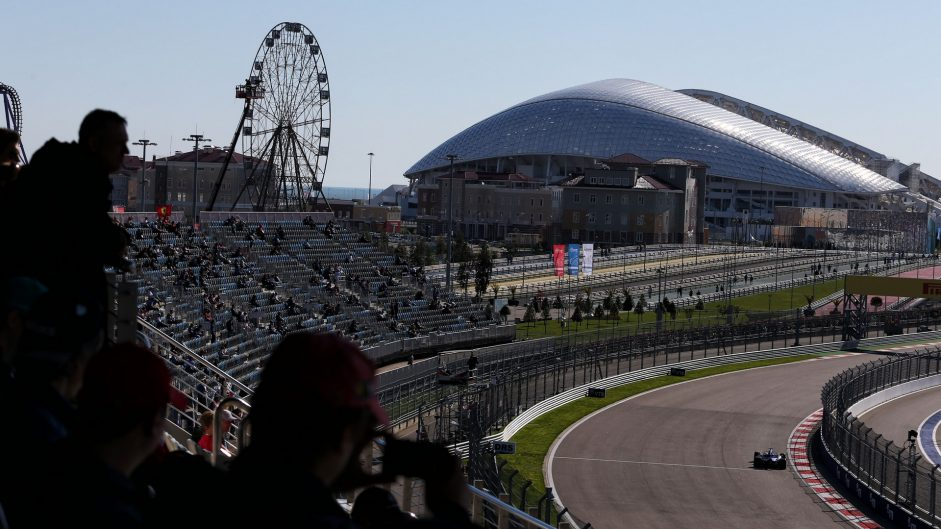 2017 Russian Grand Prix practice in pictures