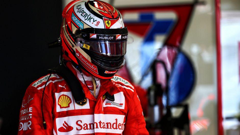 Kimi Raikkonen, Ferrari, Sochi Autodrom, 2017