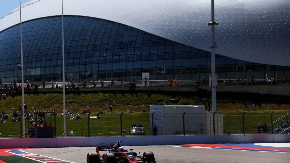 Kevin Magnussen, Haas, Sochi Autodrom, 2017