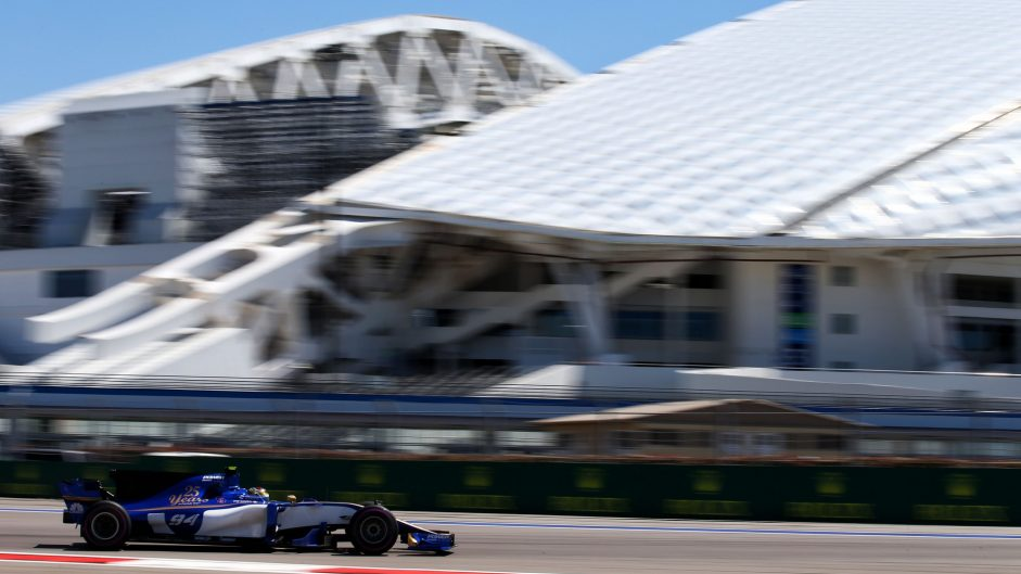 Pascal Wehrlein, Sauber, Sochi Autodrom, 2017