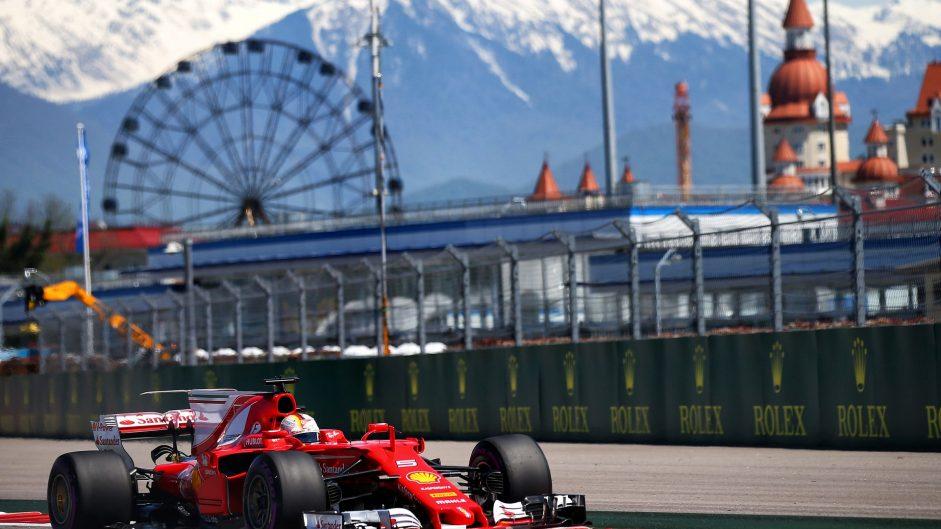 2017 Russian Grand Prix grid