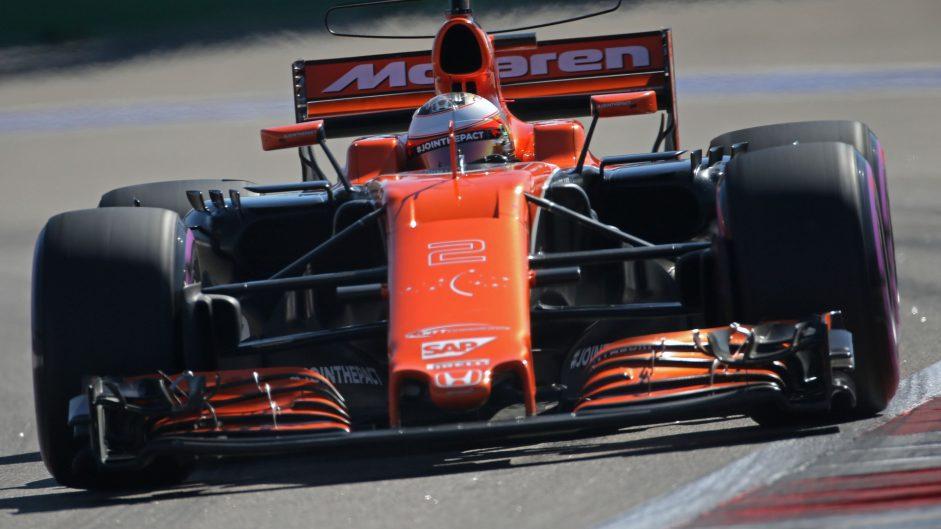 Stoffel Vandoorne, McLaren, Sochi Autodrom, 2017