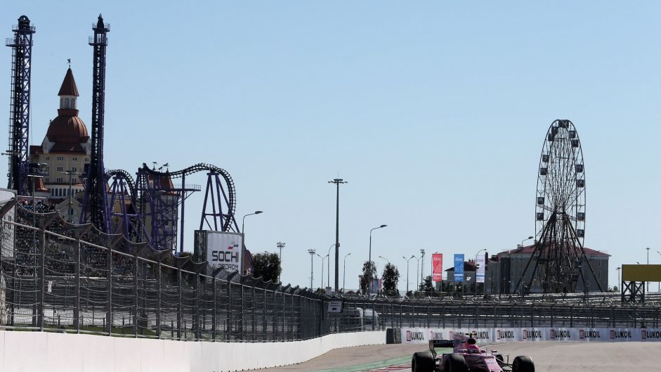 Esteban Ocon, Force India, Sochi Autodrom, 2017
