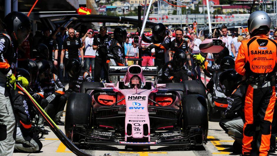 Force India, Sochi Autodrom, 2017