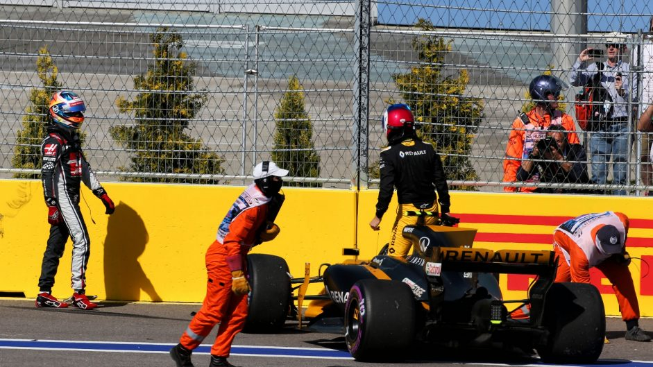 Jolyon Palmer, Renault, Sochi Autodrom, 2017