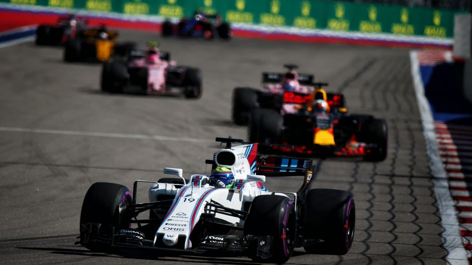 Felipe Massa, Williams, Sochi Autodrom, 2017