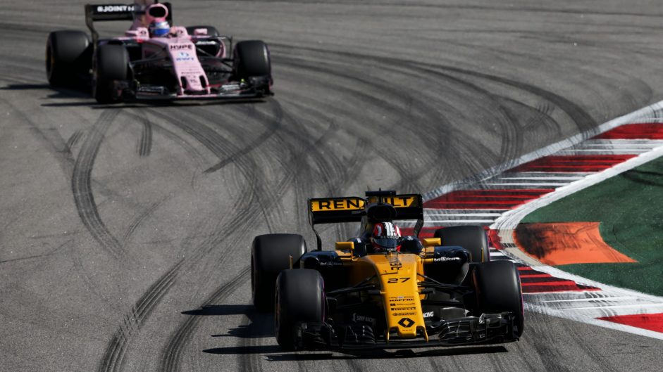 Nico Hulkenberg, Renault, Sochi Autodrom, 2017