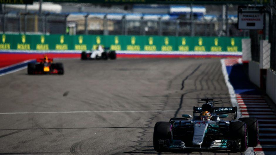 Lewis Hamilton, Mercedes, Sochi Autodrom, 2017