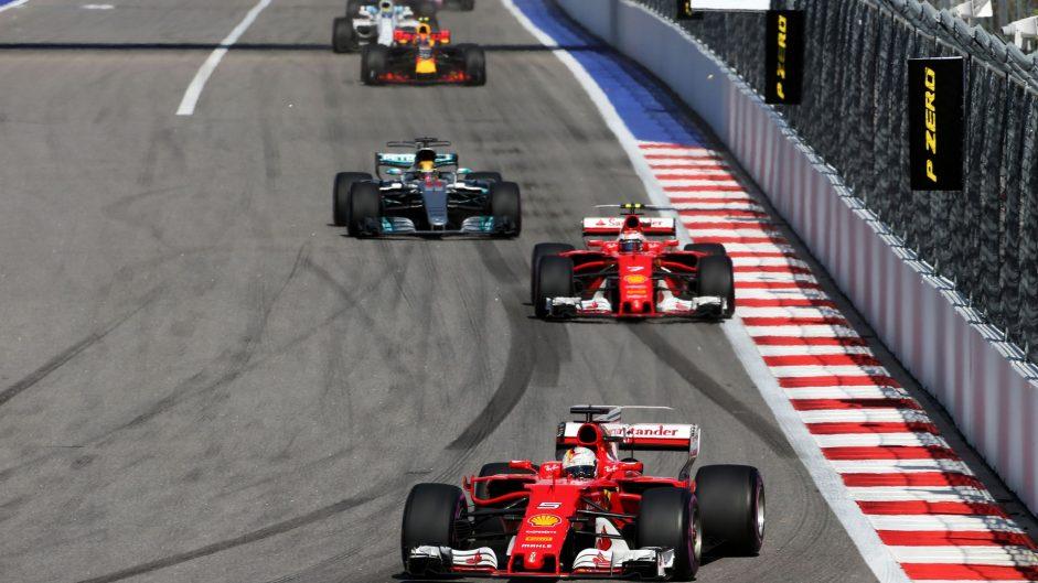 Sebastian Vettel, Ferrari, Sochi Autodrom, 2017