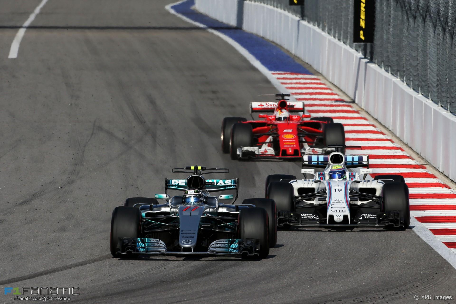 Valtteri Bottas, Mercedes, Sochi Autodrom, 2017