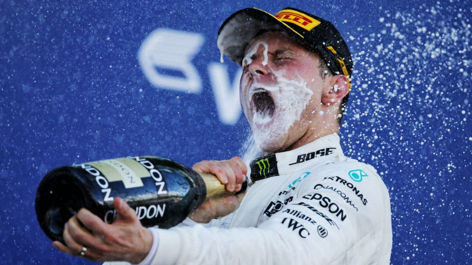 Bottas ends 2,000-day wait for victory