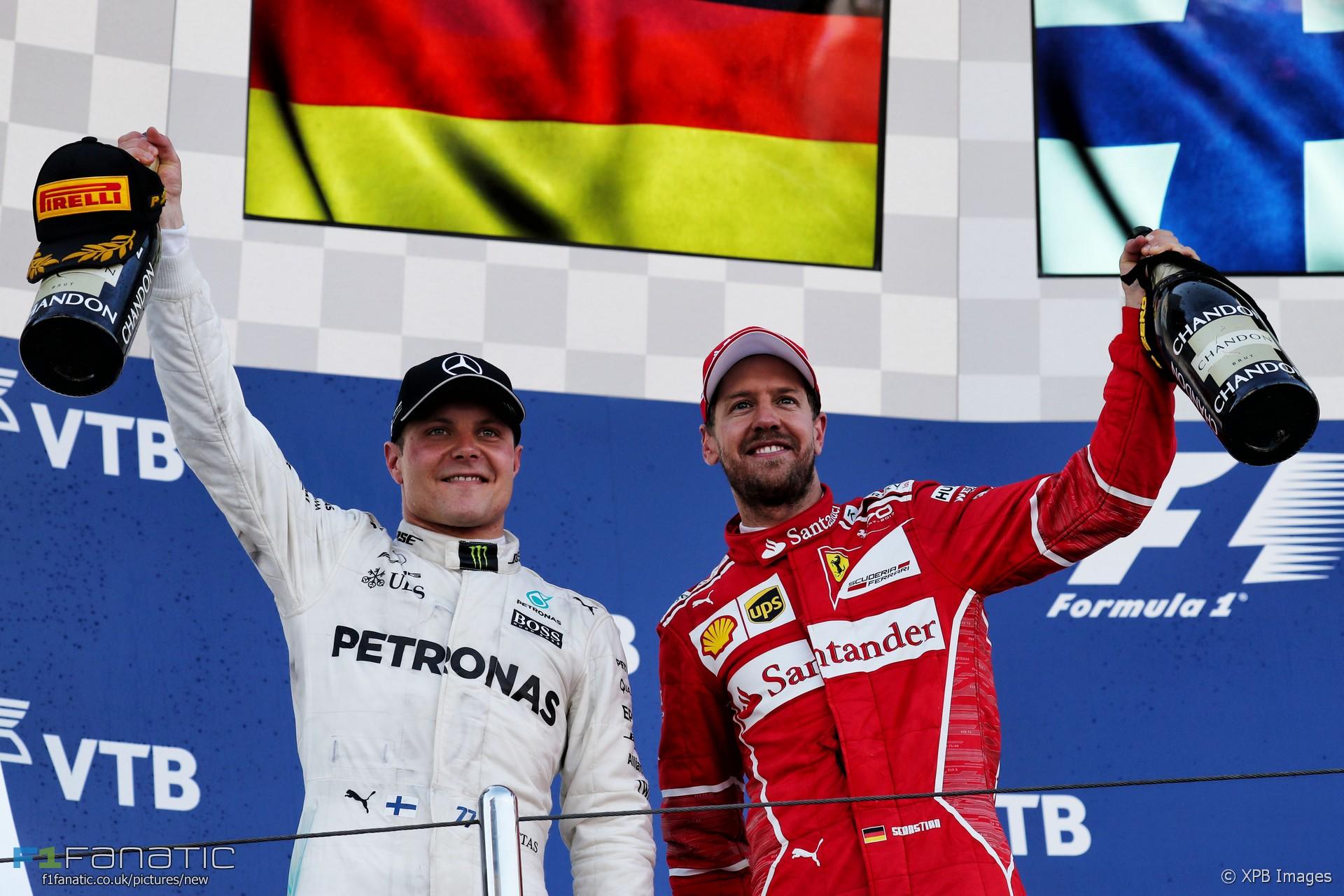 Sebastian Vettel, Valtteri Bottas, Sochi Autodrom, 2017