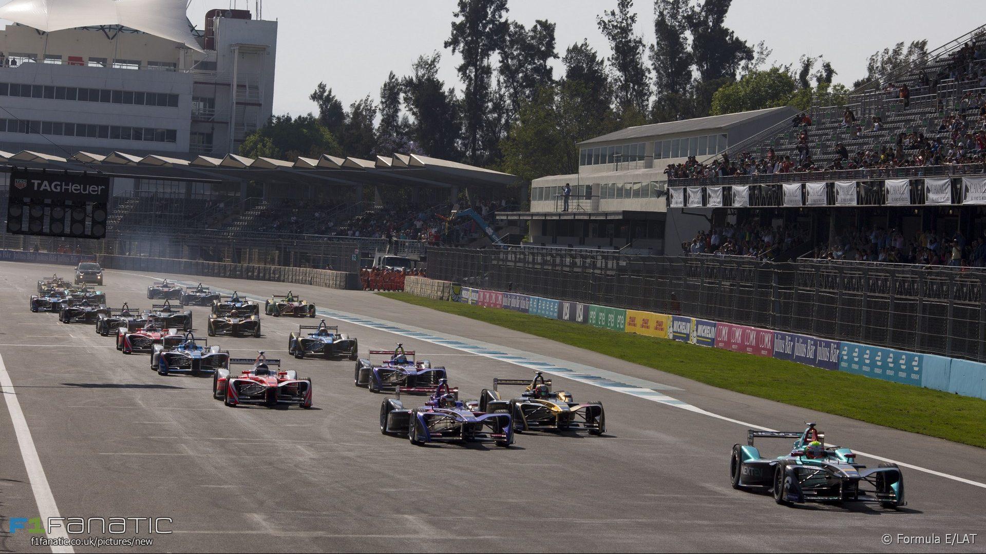 Start, Autodromo Hermanos Rodriguez, Formula E, 2017