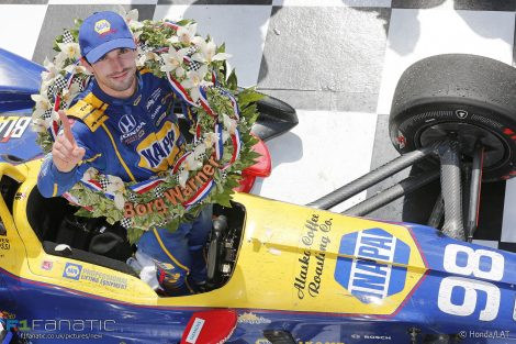 Alexander Rossi, Andretti, Indianapolis 500, IndyCar, 2016