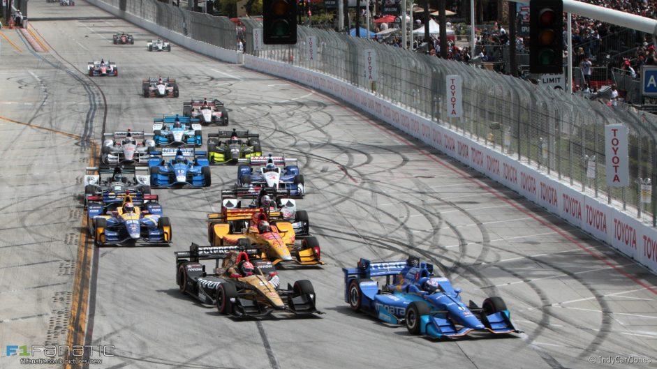 Honda's IndyCar resurgence continues at Long Beach
