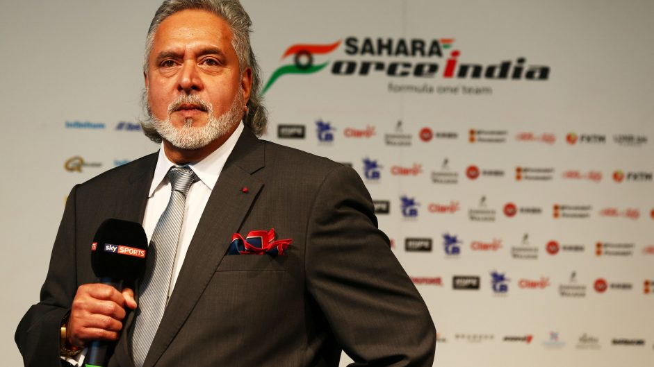 Force India team principal Mallya arrested