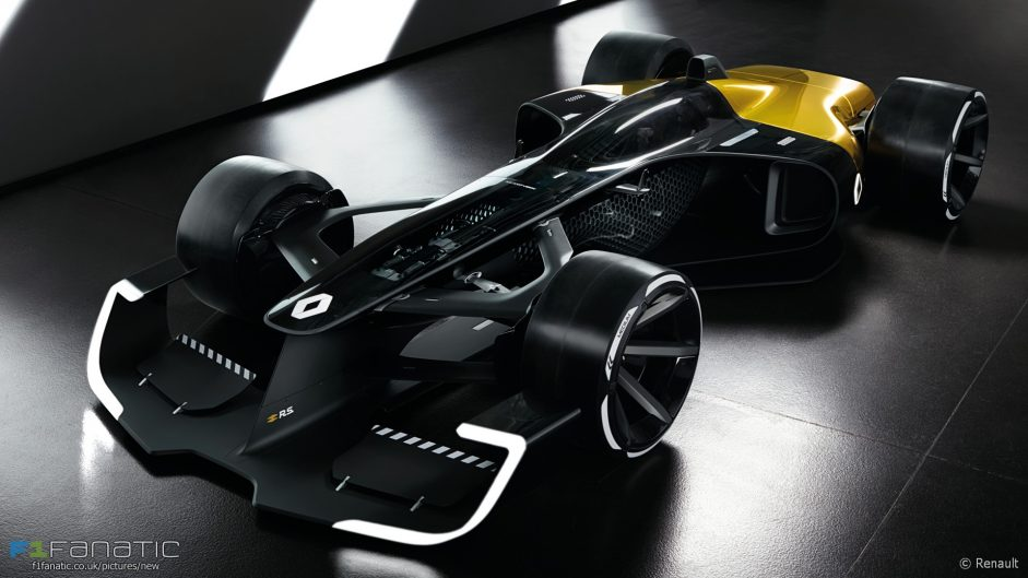 Renault reveals 1,300bhp F1 concept car for 2027