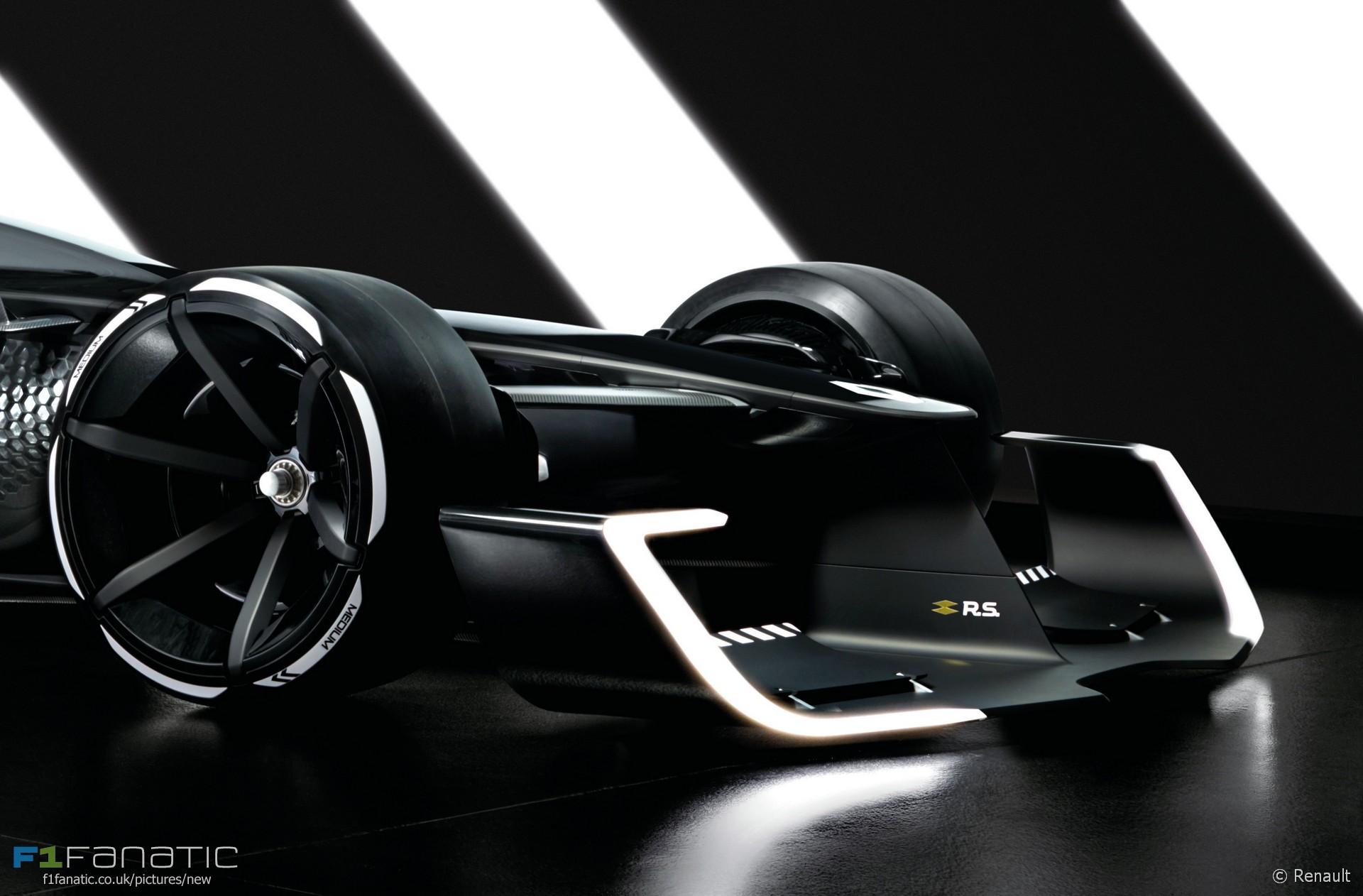 renault reveals 1,300bhp f1 concept car for 2027 · f1 fanatic
