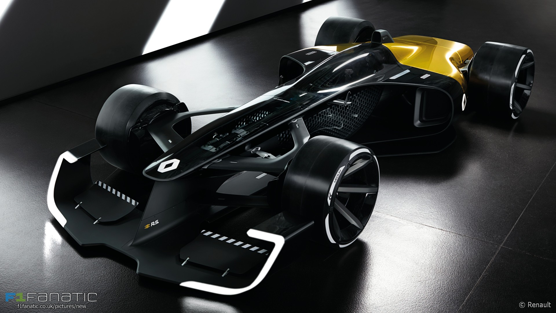 Renault RS 2027 vision F1 car concept