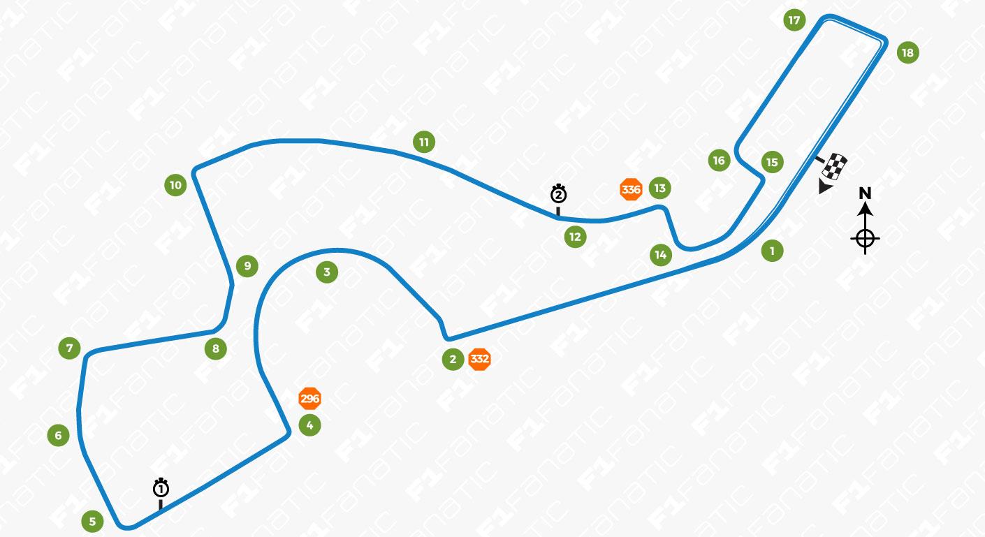 Sochi Autodrom Track Map Racefans