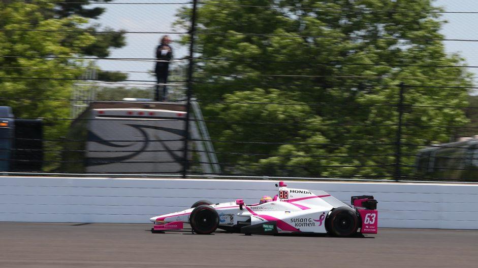 Pippa Mann, Coyne, IndyCar, Indianapolis Motor Speedway, 2017