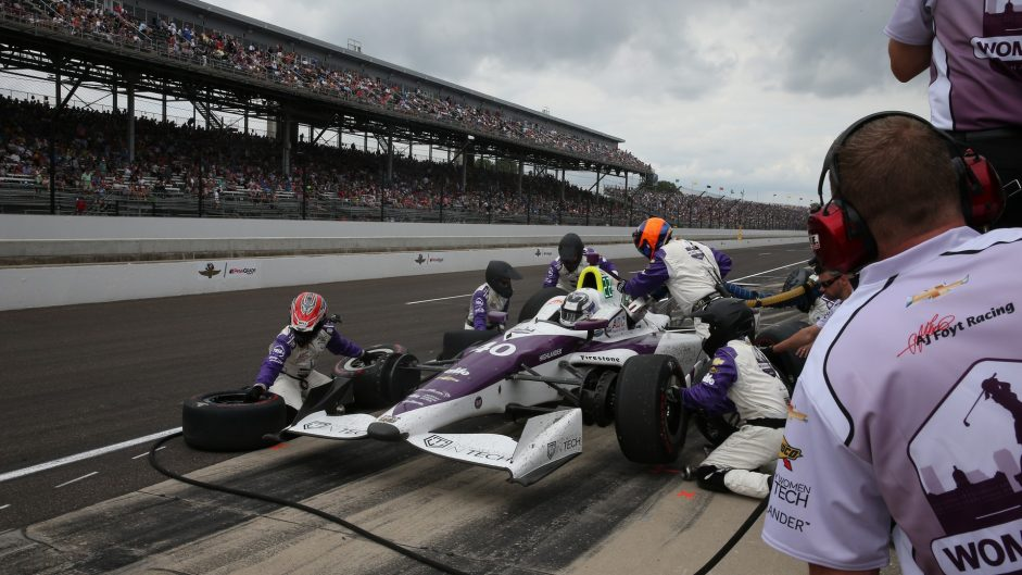 Zach Veach, Foyt, Indianapolis 500, IndyCar, 2017